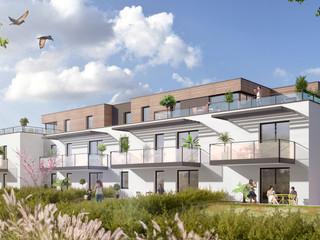 AA+_Architecture - Projet Cosy_Rive Gauche_Strasbourg