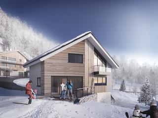 AA+_Architecture - Projet Les Chalets de Louis_Batibat_La Baume