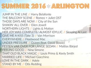 PLAYLISTS | SUMMER 2016
