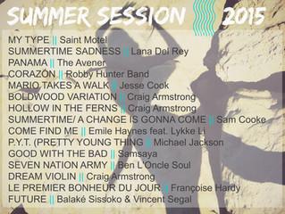 PLAYLIST | SUMMER 2015