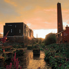 Kelham Island area close to the apartments