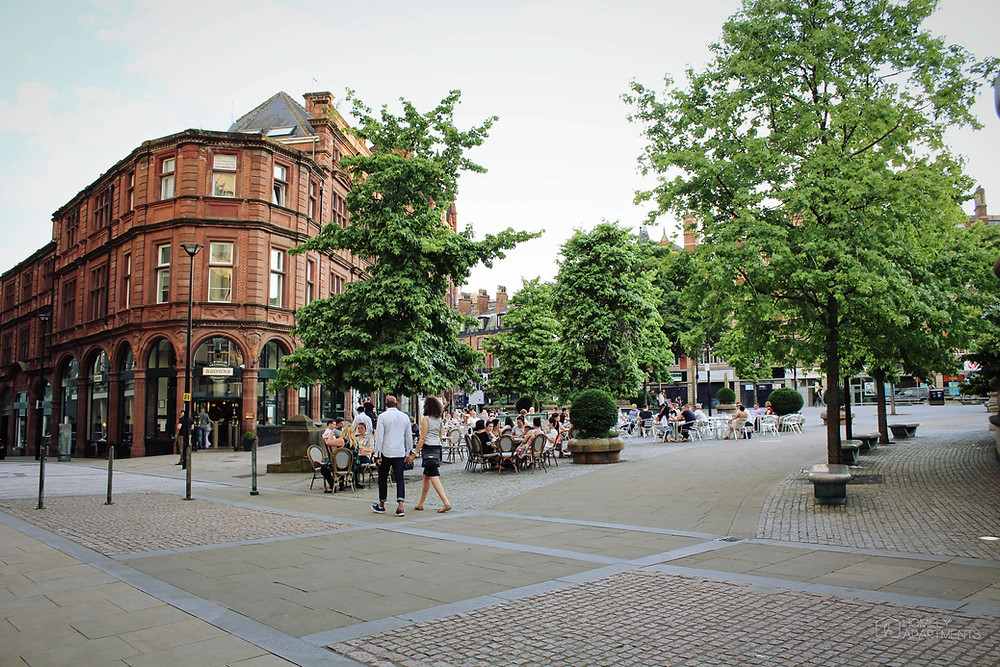 Sheffield St Pauls Area