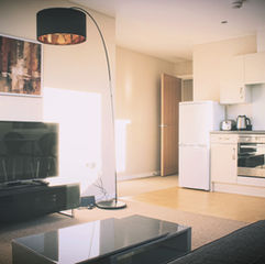 Living Room - Figtree Apartments