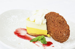 Passion cheese cake