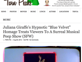 Blue Velvet on WelcometoTwin Peaks.com