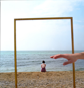 """Untitled #3 from On the Road to the Sea, Chromogenic color print, 20""""x20"""" Edition of 5"""