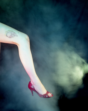 """Untitled #3 from Fame, Chromogenic color print, 24""""x30"""" Edition of 5"""