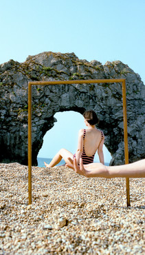 """Untitled #4 from On the Road to the Sea, Chromogenic color print, 16""""x24"""" Edition of 5"""