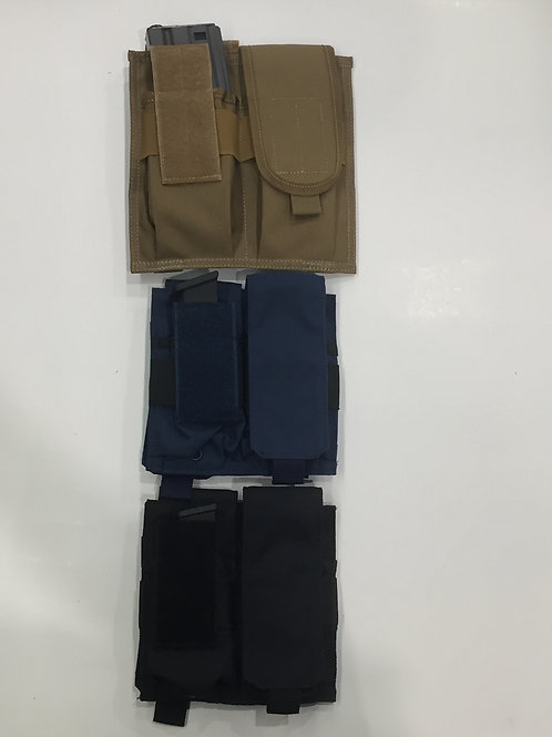 TIGRIS Tactical MOLLE Dual Mag Pouch