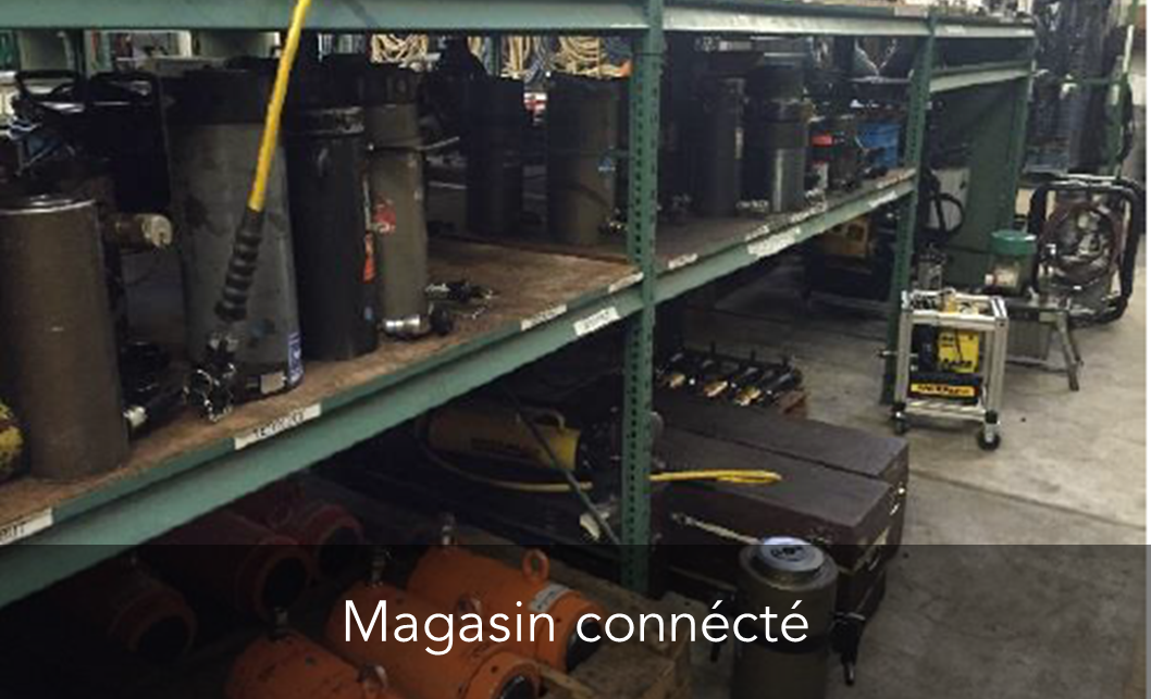 Magasin connecté