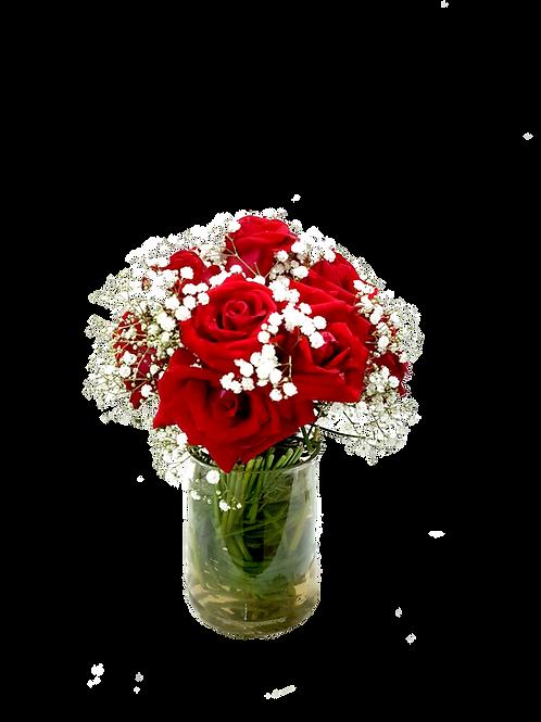 Arranjo de Rosas - 8 Rosas