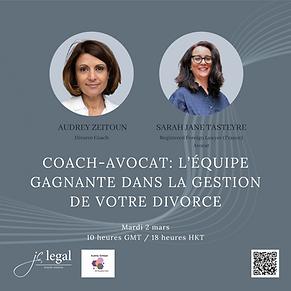 Coach- Avocat : l'équipe gagnante dans la gestion de votre divorce
