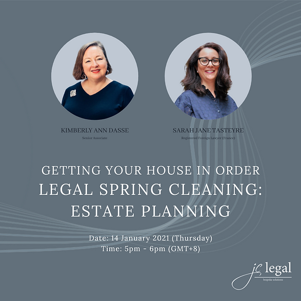 Legal Spring Cleaning Estate Planning