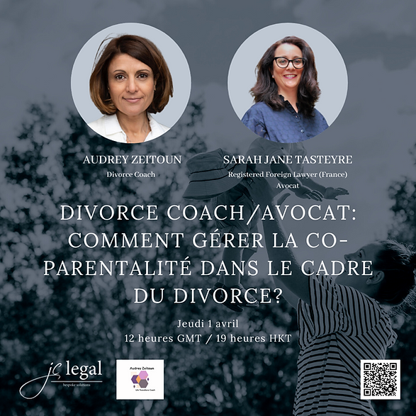 Divorce coach/ avocat : comment gérer la co-parentalité dans le cadre du divorce?