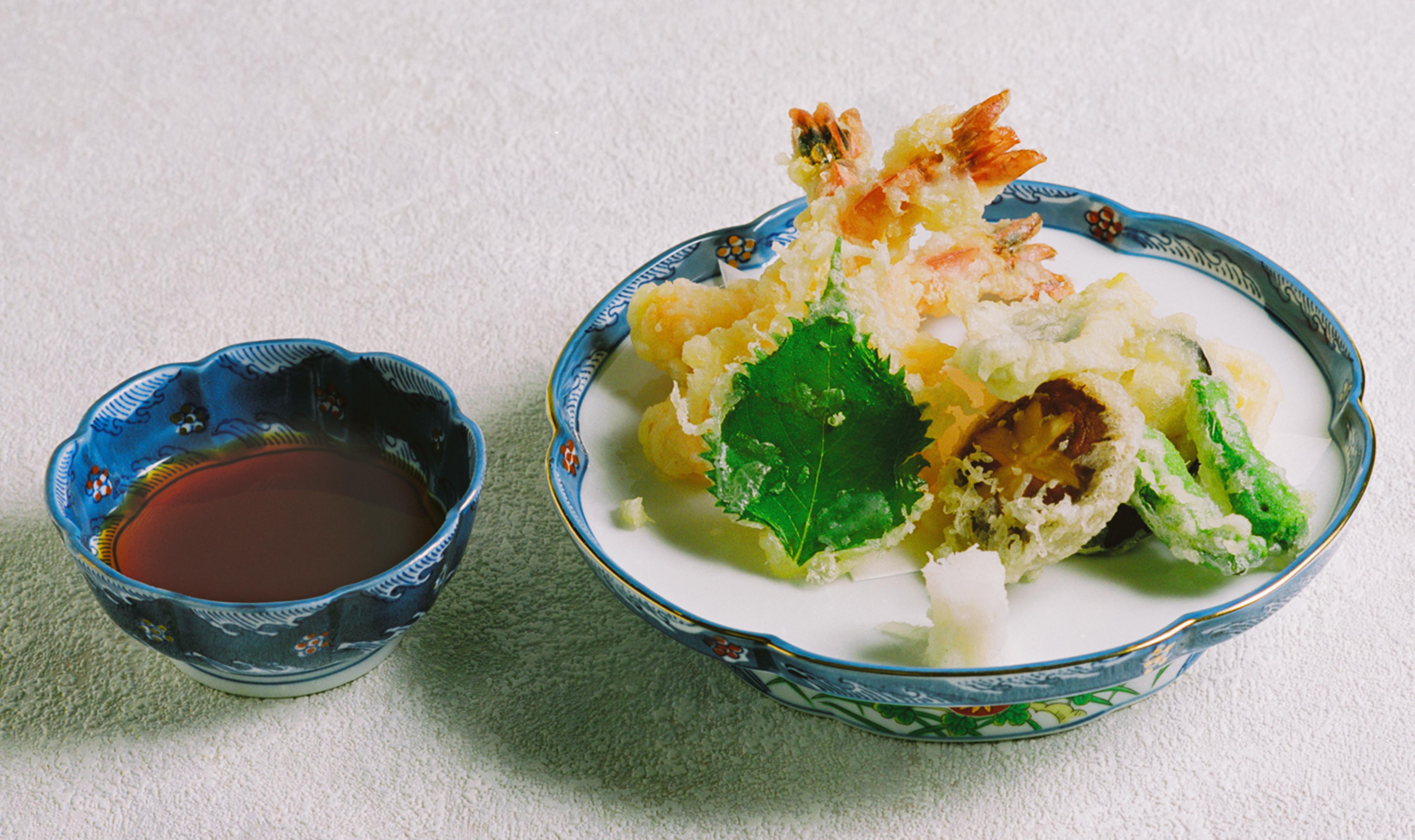 天ぷら盛り合わせ 1,650円