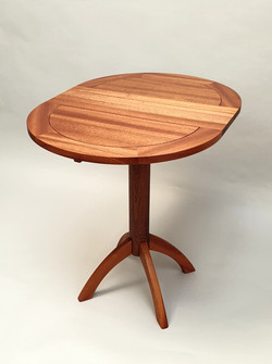 Sapele Folding Wing Table