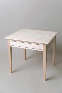 Rippled Sycamore side table