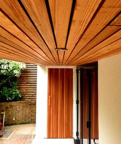 Cedar Slatted Door
