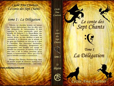 La délégation (conte des sept Chants, tome 1) par Marie Nel !