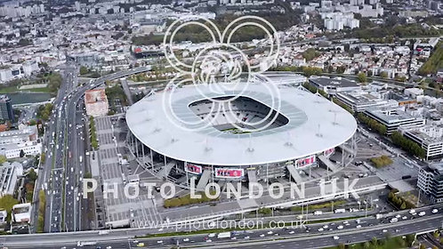 Stade De France Is The National Stadium Of France, In Paris Aerial View