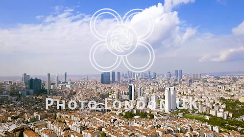 Aerial View Of Skyscrapers In Istanbul HD