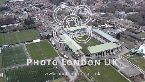 Jan Breydel Stadium Aerial View Is Home For Club Brugge In Bruges, Belgium