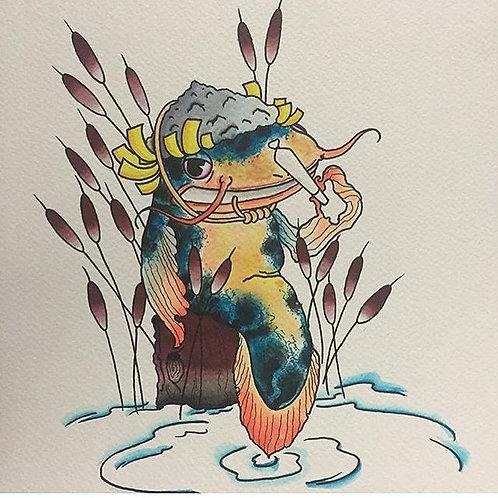 Smokin' Catfish Tee