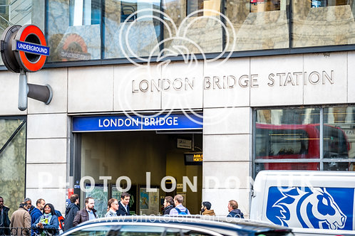 Entrance To London Bridge Station