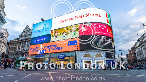 Piccadilly Circus And New Signs In London