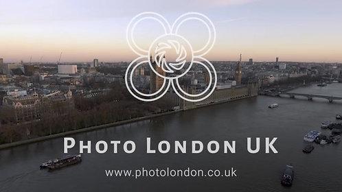 4K Aerial Jib Crane Shot Of Big Ben Clock Tower Parliament By Thames River