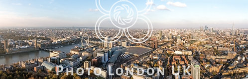 London City Aerial Panorama View