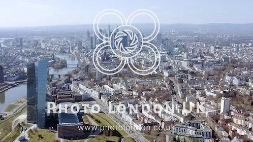 Flying Over Frankfurt In Germany
