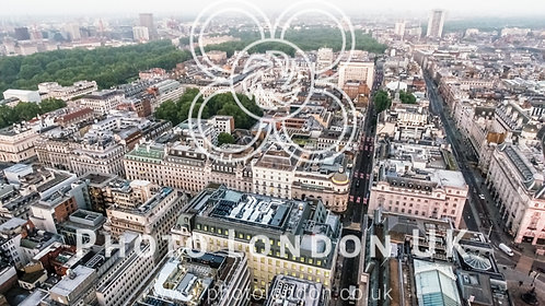 Central London Buildings Aerial View Around St James's And Piccadilly