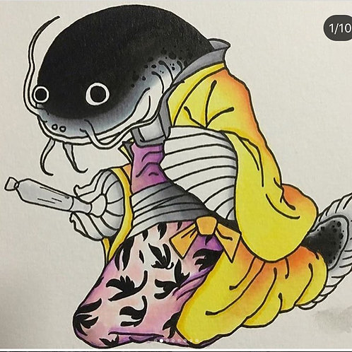 Harakiri Catfish Tee
