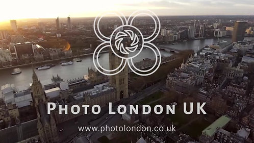 Aerial View Flying Over Big Ben Feat British Flag 4K