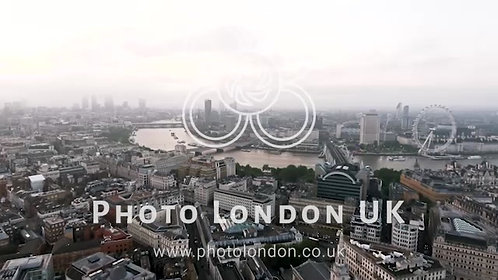 New London Aerial View Of Iconic Famous Landmarks
