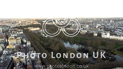 Buckingham St James Park London Aerial