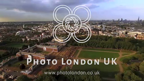 Central London Neighborhood Chelsea Pimlico And Thames River Aerial View