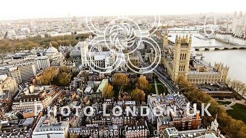Aerial View Photo Of Big Ben Aka City Of Westminster In London