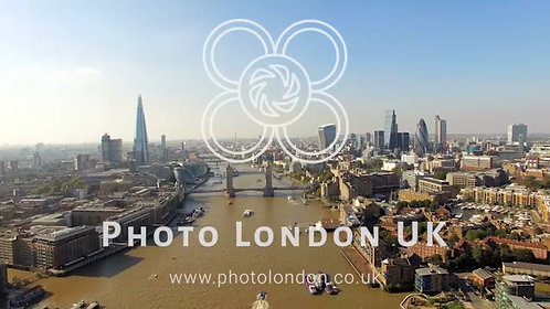 The New London Skyline Aerial Video