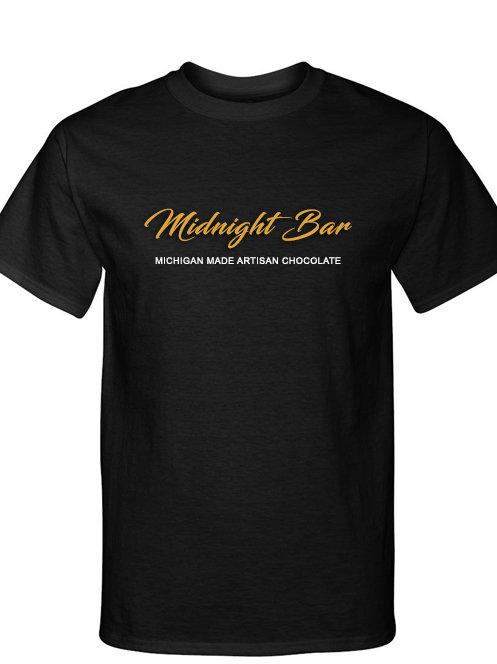MIDNIGHT BARS TEE - BLACK