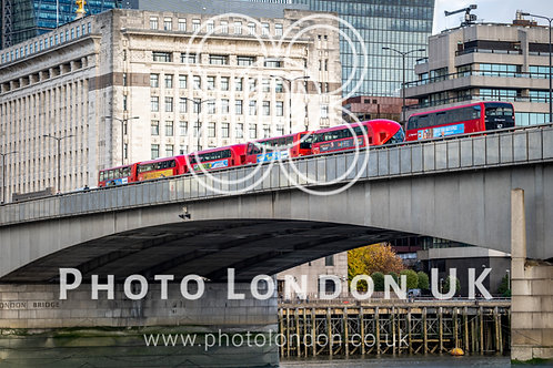 Red London Double Decker Buses