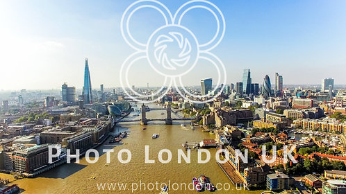 The New London Skyline Aerial View Photo