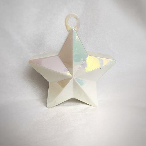 Balloon Weight- Iridescent Star