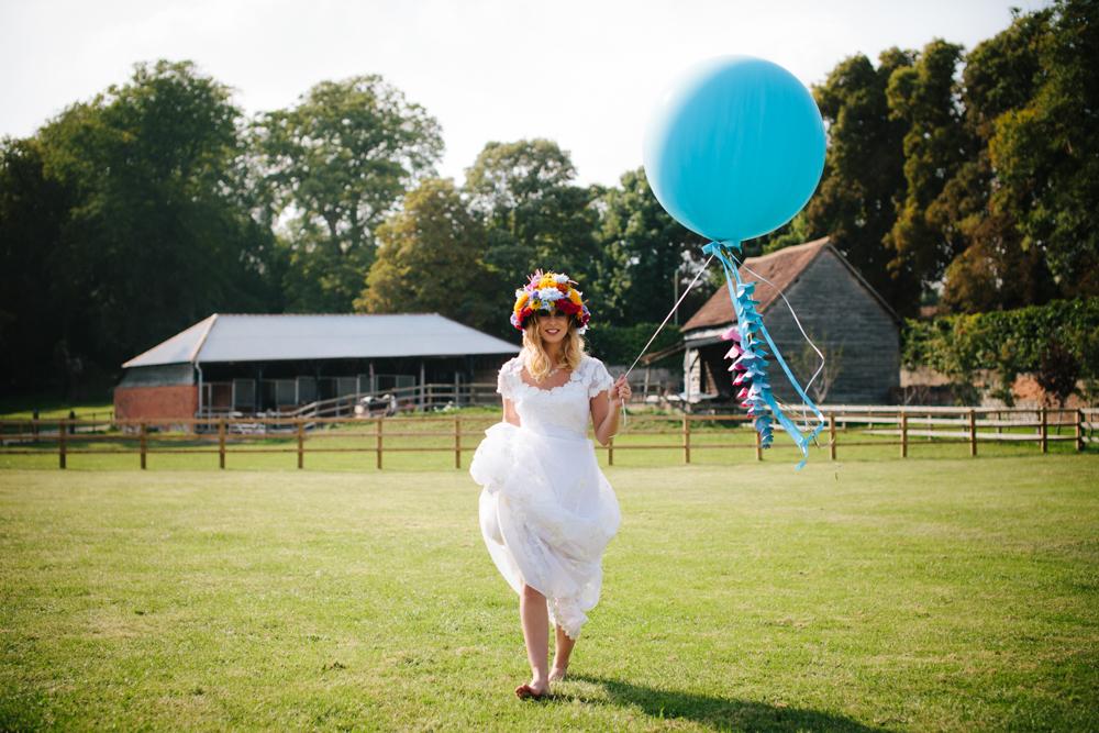Giant Balloon Bride