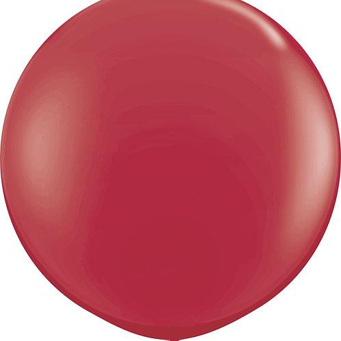 Maroon Giant Balloon