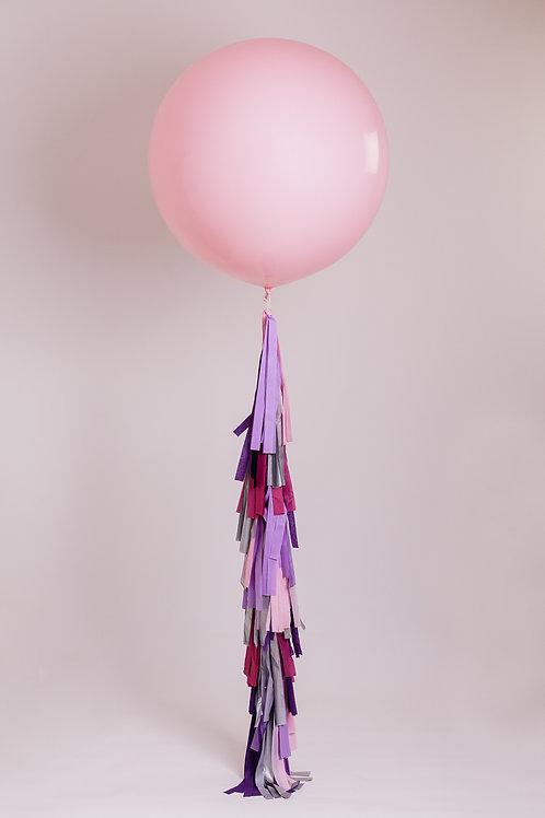 For The Girls Tassel Tail Balloon