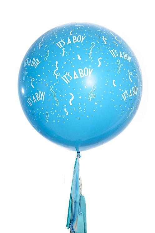 Baby Boy Giant Balloon