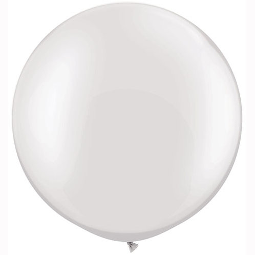 Pearl White Giant Balloon