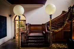 Cowley Manor Metallic Giant Balloons